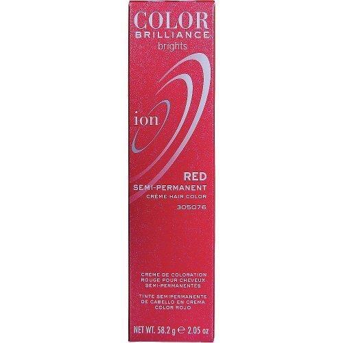 Ion Color Brilliance Brights Semi Permanent Hair Color Red