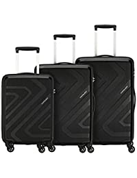 Kamiliant by American Tourister Kiza Combo Set of 3 Small, Medium and Large 4-Wheel Check-in Suitcase