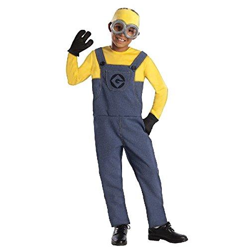Ich unverbesserlich 2 Kinder Kostüm Minion Dave Gr.S (Für Minions-kostüm Kinder)
