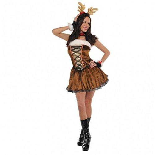 Weibliches Rentier Kostüm (Damen Rentier Kostüme)