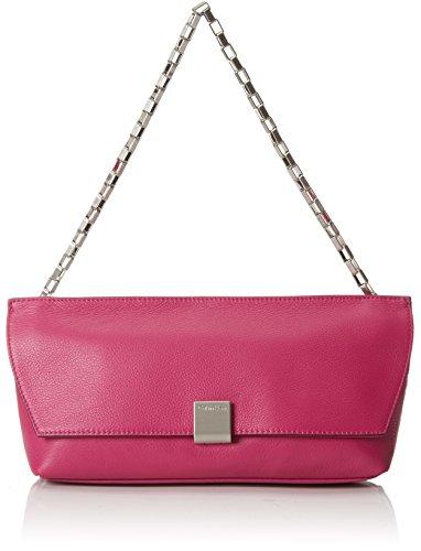 Calvin Klein Jeans - Kate Clutch - Pochette - Pochette - femme - Rose (BERRY 502) - 5x8x31 cm (B x H x T)