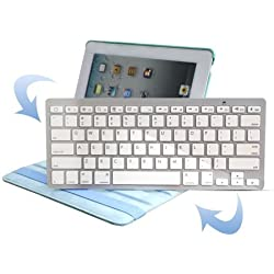 KKmoon btk Ultra thin Slim Bluetooth 2.0 Wireless Keyboard Keypad for iPad iPhone Sony PS3 Smart Phones PC & Mac Laptop Desktop Netbook HTC Nokia Sony Ericsson Motorola Samsung LG Blackberry