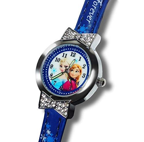 Dunn's - Reloj de Dibujos Animados para niña