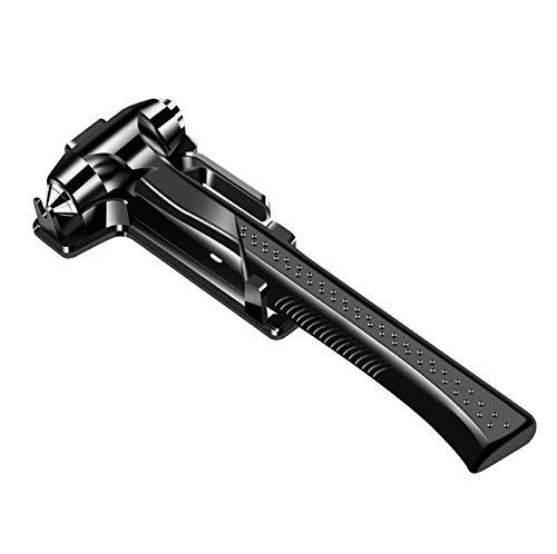 AQWWHY 2-in-1-Nothammer, Notausstiegswerkzeug Sicherheitsgurtschneider, Window Breaker Auto Auto Sicherheitshammer