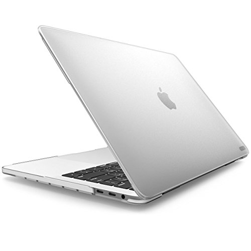 Macbook Pro 15 Hülle 2016/2017/2018 i-Blason Mattierte Case Hartschale Transparent Schutzhülle mit Retina Display für Apple Macbook Pro 15'' Zoll 2016/2017/2018, (Frost/Klar) - Macbook Klar 15 Pro Retina Das Case