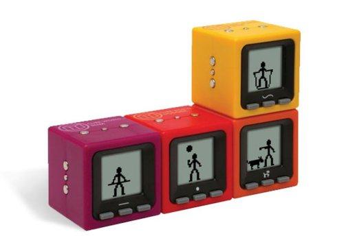 Mattel - Radica - I5039-0 Cube World Pack Purple/Orange (2 Wrfel)
