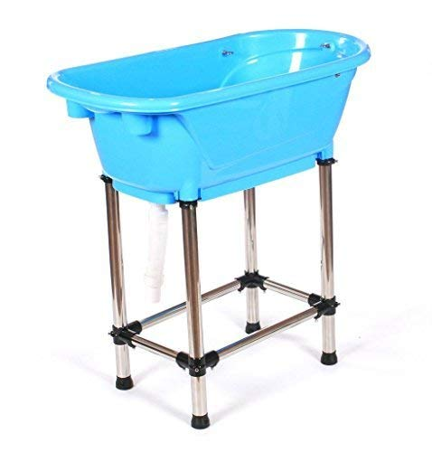 pedigroom Qualität Polypropylen PP Plastik Hund Haustier Katze Pflege Badewanne blau