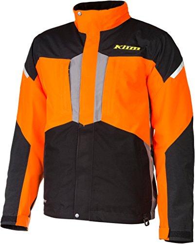 Klim Keweenaw Parka Ski Jacke 2017 L Orange Ski-insulated-jacken-jacken