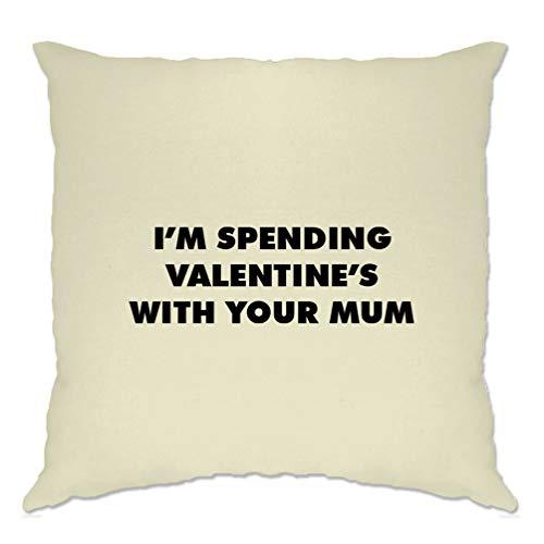 Tim and ted novità fodera per cuscino trascorrere san valentino con la vostra mamma natural one size