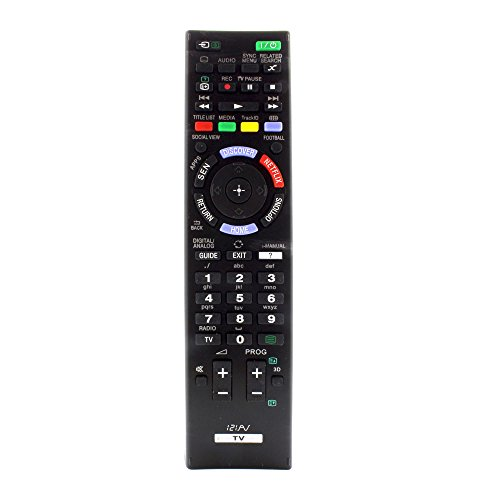 121AV - Ersatz Fernbedienung RM-ED047 RM-ED052 RM-ED058 RM-ED062 Für Sony LED-Fernseher