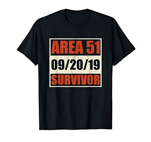 Storm Area 51 They Can't Stop Us All Survivor T-Shirt -