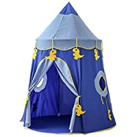 Beneyond Play House,Castle game tent,Children Teepee,Baby Toy house,Tent house,Infant Play House,Play Tents,Garden tent,MGB002 (Blue)