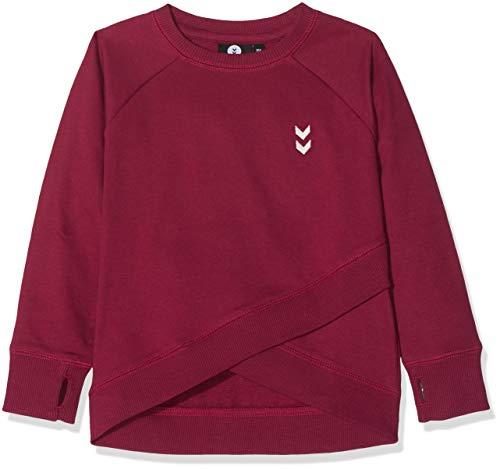 Hummel (HUMBC) hummel Mädchen HMLANNIE Sweatshirt Rumba Red 104