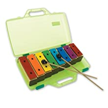 Percussion Plus Multi Color Chime Bar (Set of 8)