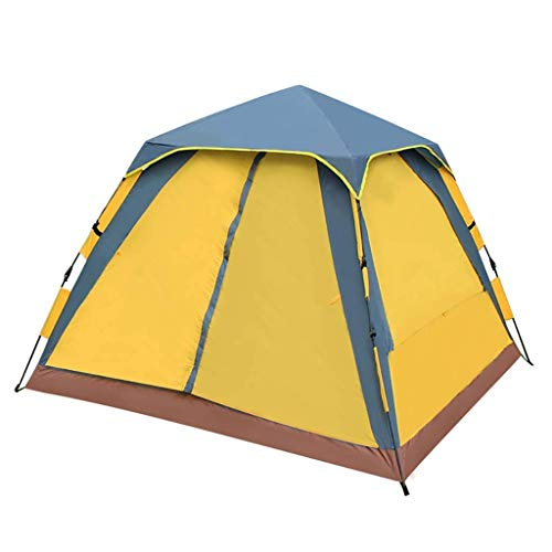 XHHWZB Carpa para 4 Personas para Acampar en la Familia Pop Up Carpas Carpa Impermeable para 4 Estaciones al Aire Libre