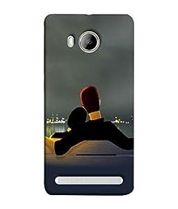 PrintVisa Designer Back Case Cover for Vivo Xshot :: Vivo X Shot (Couple Relaxing By The Sea Side)