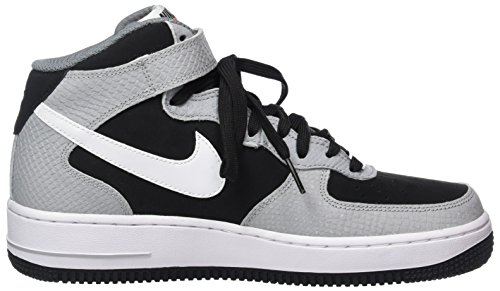 Nike Air Force 1 Mid '07, Scarpe da Basket Uomo BLACK/WHITE-W.GREY