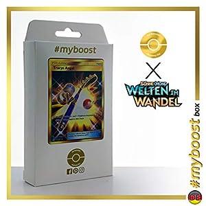 Tracys Angel (Caña de Nereida ) 266/236 Entrenadore Secreta - #myboost X Sonne & Mond 12 Welten im Wandel - Box de 10 cartas Pokémon Alemán