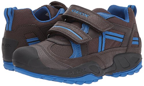 Geox J New Savage A Boys Low Top Trainers