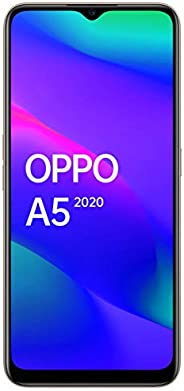OPPO A5 2020 (Dazzling White, 3GB RAM, 64GB Storage) with No Cost EMI/Additional Exchange Offers