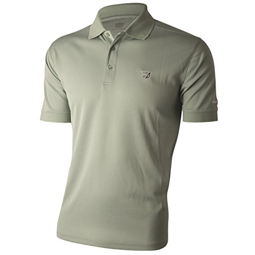 Wilson Staff Mens Authentic Polo-Shirt Silt Grey Grösse S/M - Authentic Polo-shirts