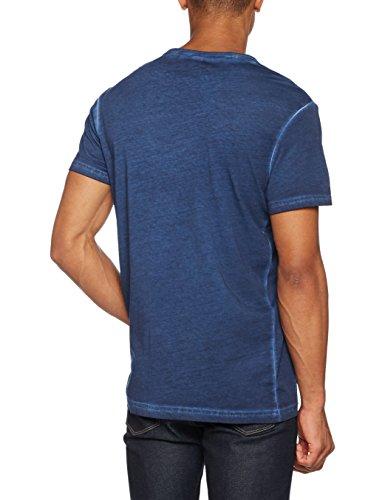G-STAR RAW Herren T-Shirt Nact R T S/S Blau (Sartho Blue 6067)