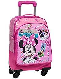 Disney Mochila trolley Minnie & Daisy Rosa
