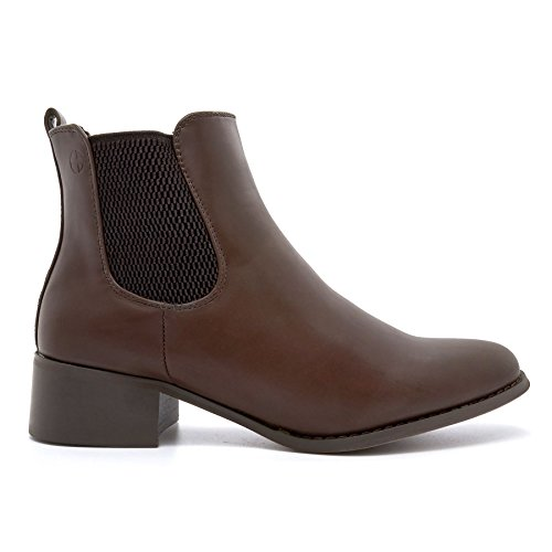 London Footwear ,  Damen Chelsea Boots Braun