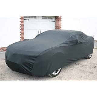 Autoabdeckung Soft Indoor Car Cover Stretch Delux Autogarage Faltgarage Premium