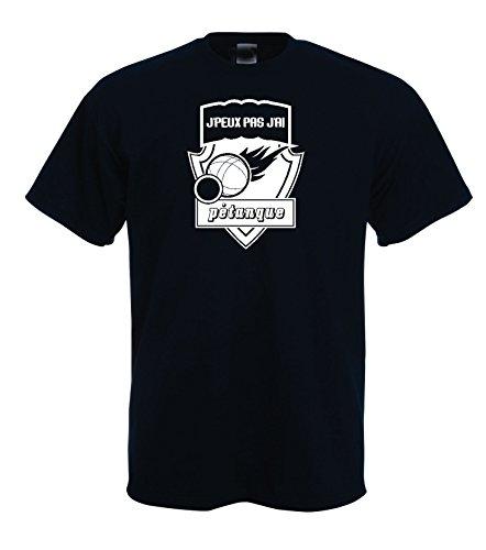 T-shirt homme pétanque J'peux pas j'ai pétanque