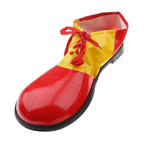Clown Erwachsenen Kinder Schuh Abendkleid Spaß Zirkus kostüm zubehör - (Erwachsene Clown Kostüme Für Zirkus)