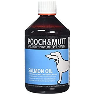 Pooch & Mutt 100% Natural Salmon Oil for Dogs and Cats (Rich in Omega 3, 6 and 9) - 500 ml 18