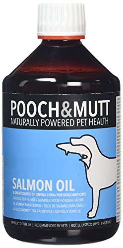 Pooch & Mutt 100% Natural Salmon Oil for Dogs and Cats (Rich in Omega 3, 6 and 9) - 500 ml 1