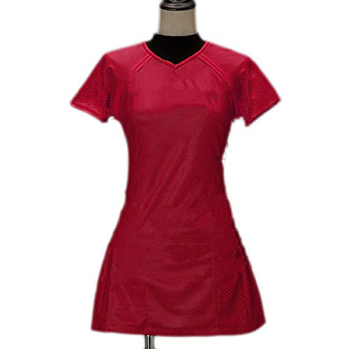 Star Trek Dark Ungebundene StarTrek Schauspielerin Serie Cosplay Uniform Cosplay Kostüm,Red-M