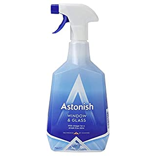 Astonish Window & Glass Cleaner, 750 ml, No Mess Set of 2
