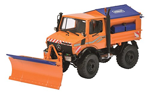 Schuco unimog u1600 orange 1/32
