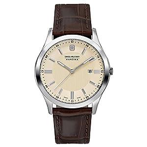 Swiss Military Hanowa SM06-4182-04-002 - Reloj de pulsera para Hombre, beige / marrón de Swiss Military Hanowa
