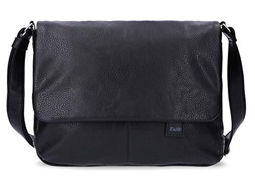 zwei Mademoiselle MT13 Messenger Bag 33 cm Noir
