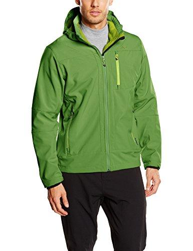 Cmp giacca in softshell, da uomo, jacke softshell, grass-cedro, 46, erba/cedro, 46
