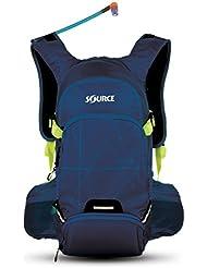 SOURCE Ride Backpack 15 L Dark Blue/Green 2016 Rucksack
