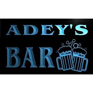 w052935-b ADEY Name Home Bar Pub Beer Mugs Cheers Neon Light Sign Barlicht Neonlicht Lichtwerbung