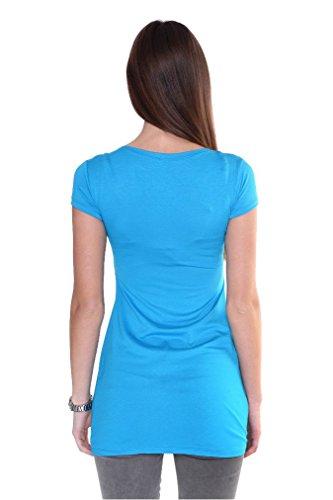 AE - Chemisier - Femme Bleu - Bleu ciel