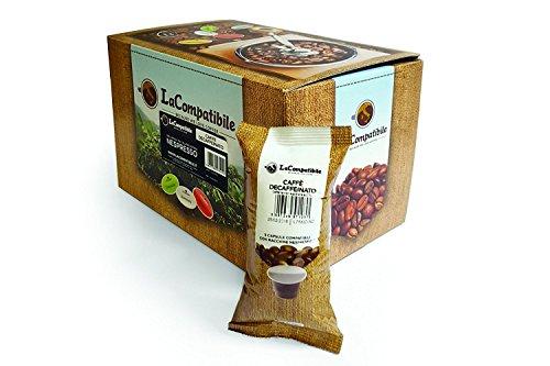 100 NESPRESSO(R) kompatibel Kaffeekapseln Decaffeinato LaCompatibile.it