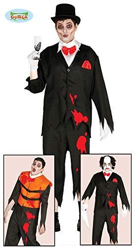 ichen Halloween Kostüm für Herren Geister Halloweenkostüm Geist Opfer Gr. M/L, Größe:M ()