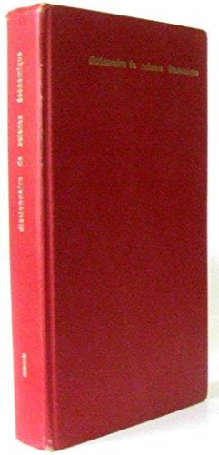 Dictionnaire de sciences économiques