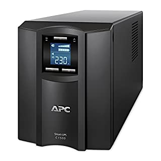 APC Smart-UPS SMC - Uninterruptible Power Supply 1500VA - SMC1500I - Line Interactive, AVR, 8 Outlets IEC-C13, Shutdown Software