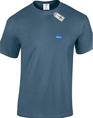 Eat Sleep Shop Repeat Herren T-Shirt Indigoblau