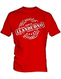 Made In Llandudno - Mens T-Shirt T Shirt Tee Top