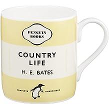 Mug - Country Life - H.E. Bates. Yellow: Penguin Merchandise