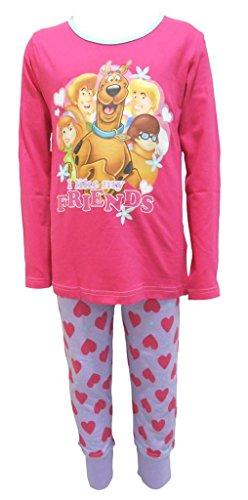 chlafanzug Mädchen 7-8 Jahre (Mädchen In Scooby Doo)